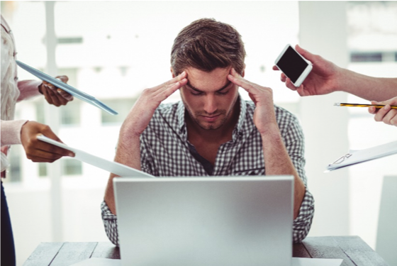 Stress relief ideas to help in the workplace