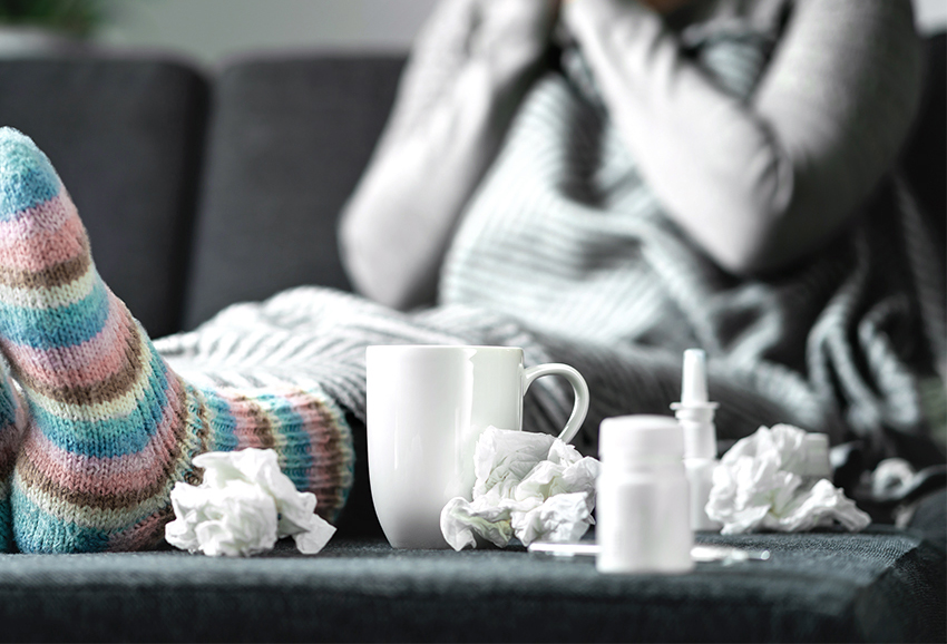 How To Tell the Difference Between a Cold and the Flu